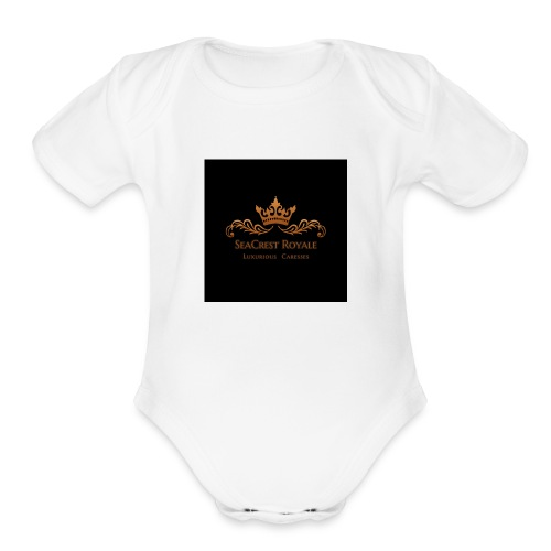 SeaCrest Royale2 - Organic Short Sleeve Baby Bodysuit