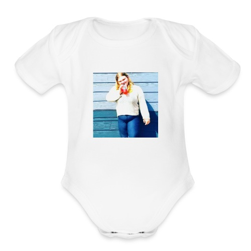 Littlebmason - Organic Short Sleeve Baby Bodysuit