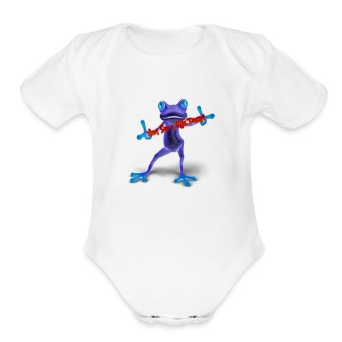 Logo - Nem Sei o Que Dizem - Podcast - Organic Short Sleeve Baby Bodysuit
