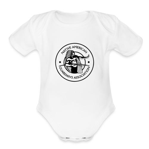 NAGA Logo - Organic Short Sleeve Baby Bodysuit