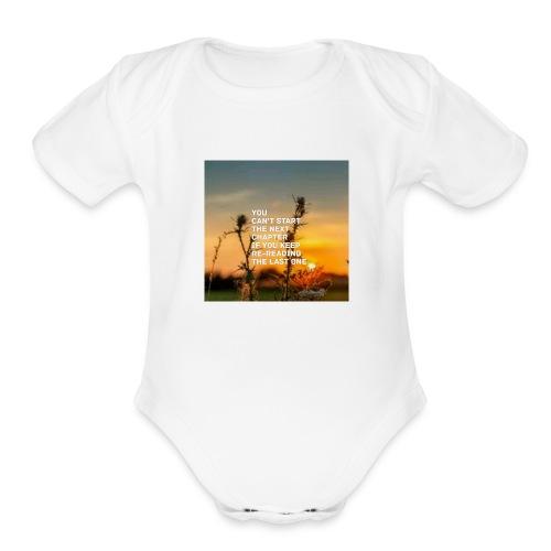 Next life chapter - Organic Short Sleeve Baby Bodysuit