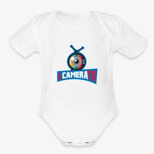 LCAMERATV - Organic Short Sleeve Baby Bodysuit