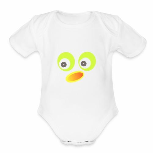 kids - Organic Short Sleeve Baby Bodysuit