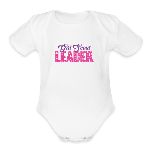 Girl Scout Leader - Organic Short Sleeve Baby Bodysuit