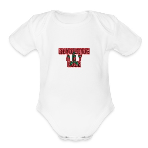 Revolutionary Hour - Organic Short Sleeve Baby Bodysuit