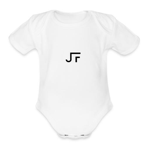 JF White Era - Organic Short Sleeve Baby Bodysuit