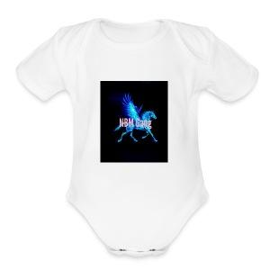 Blue Mustang iphone case (NBM Gang) - Short Sleeve Baby Bodysuit
