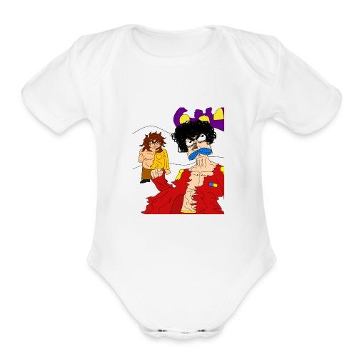 JuanTa Fin de soirée - Organic Short Sleeve Baby Bodysuit