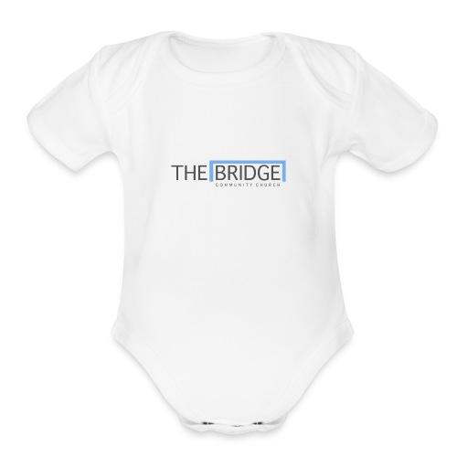 The Bridge Church logo - Organic Short Sleeve Baby Bodysuit
