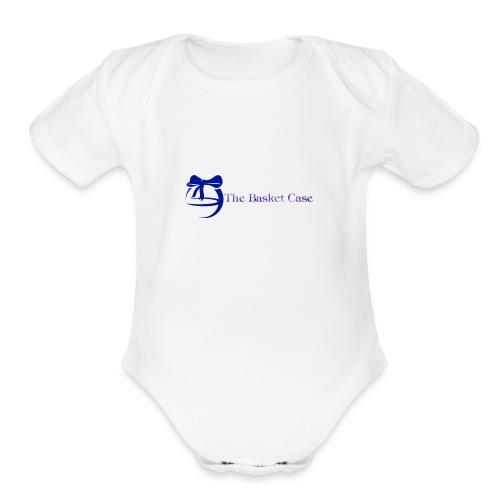 The Basket Case - Organic Short Sleeve Baby Bodysuit