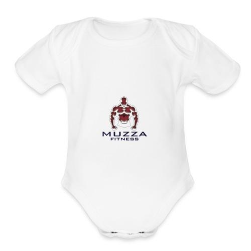 Muzza Fitness - Organic Short Sleeve Baby Bodysuit
