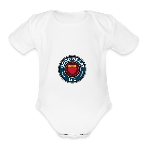 Good heart LLC Wear - Organic Short Sleeve Baby Bodysuit