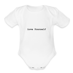 Love Yourself - Short Sleeve Baby Bodysuit
