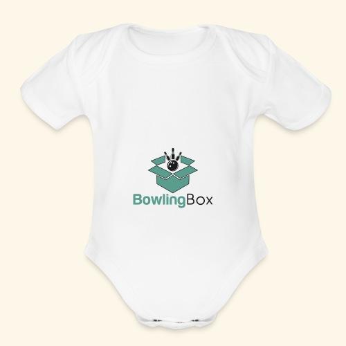 BowlingBox - Organic Short Sleeve Baby Bodysuit