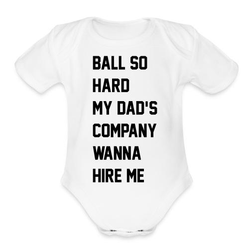 ni__asinparis - Organic Short Sleeve Baby Bodysuit