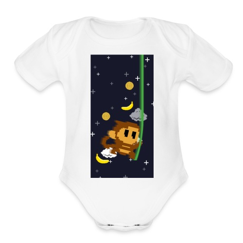case2 png - Organic Short Sleeve Baby Bodysuit