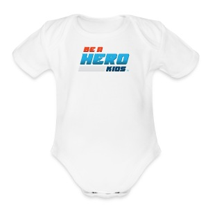 BHK secondary full color stylized TM - Short Sleeve Baby Bodysuit