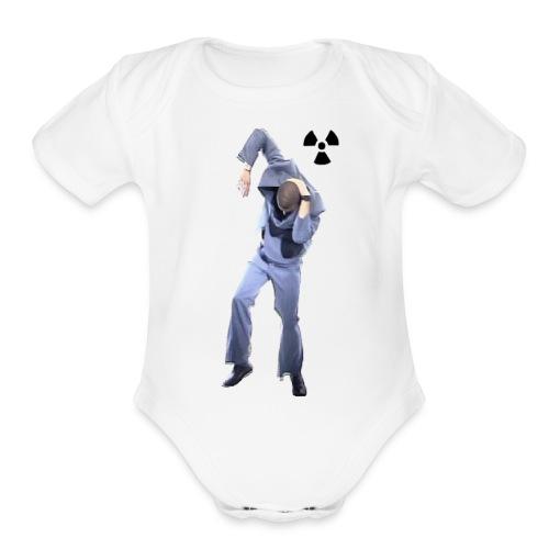 CHERNOBYL CHILD DANCE! - Organic Short Sleeve Baby Bodysuit