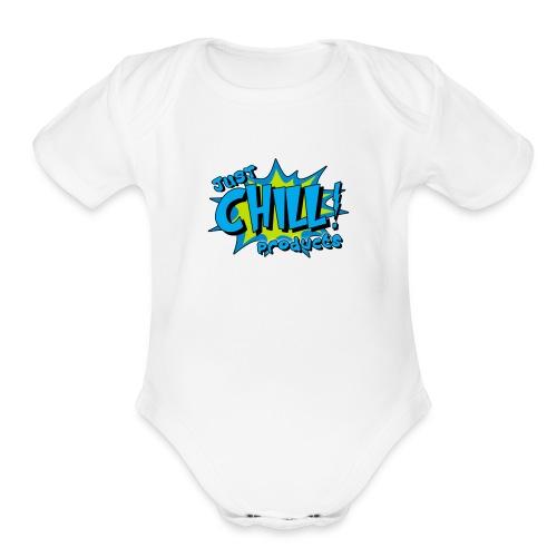 IMG 3625 - Organic Short Sleeve Baby Bodysuit