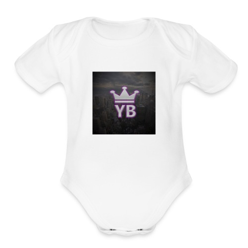 Yoke Boys - Organic Short Sleeve Baby Bodysuit