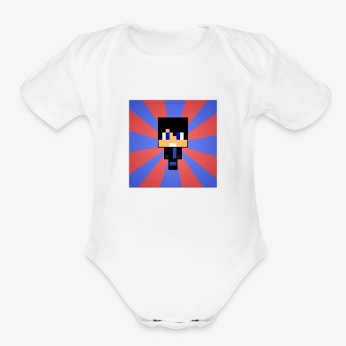 My Skin In Mine Craft - Organic Short Sleeve Baby Bodysuit