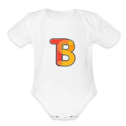 Barfy Shirt - Organic Short Sleeve Baby Bodysuit