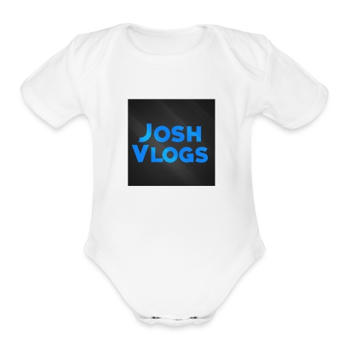 because this is my yt profile name - Organic Short Sleeve Baby Bodysuit