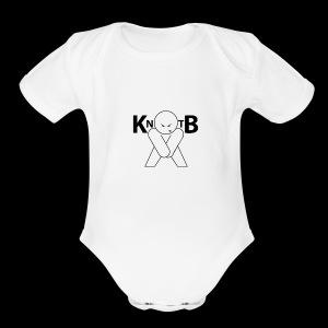 KickNtheBalls Logo 1 - Short Sleeve Baby Bodysuit