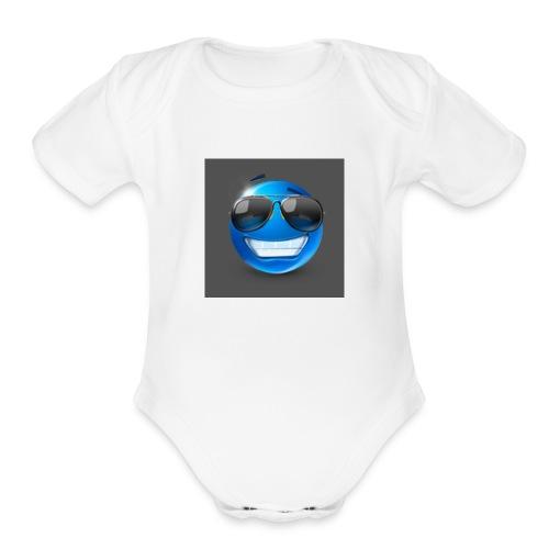 mzl xkcyiauz - Organic Short Sleeve Baby Bodysuit