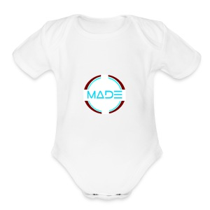 MADE - Short Sleeve Baby Bodysuit