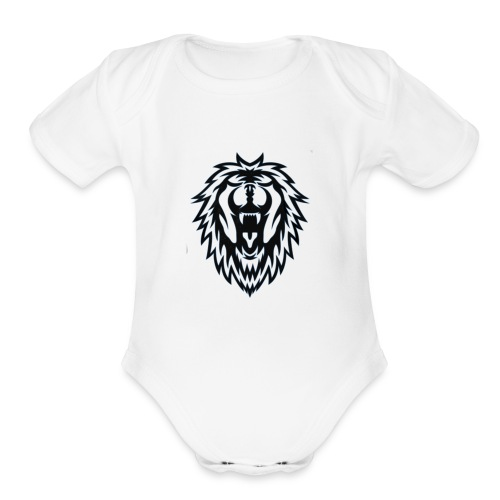 Tiger tshirt for men and women - Organic Short Sleeve Baby Bodysuit