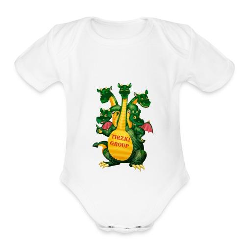 Tirzki Group - songs and video design studio - Organic Short Sleeve Baby Bodysuit