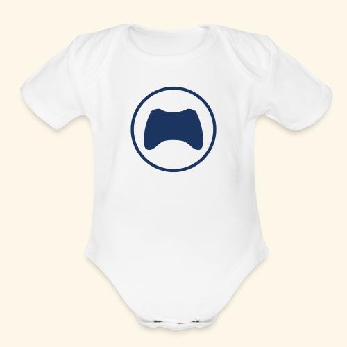 Gaming Controller - Organic Short Sleeve Baby Bodysuit