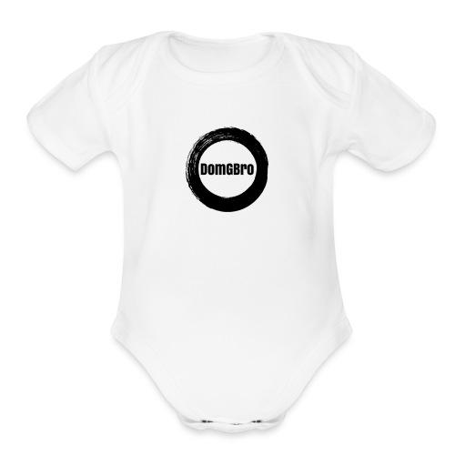 DomGBro Lit No 1 - Organic Short Sleeve Baby Bodysuit