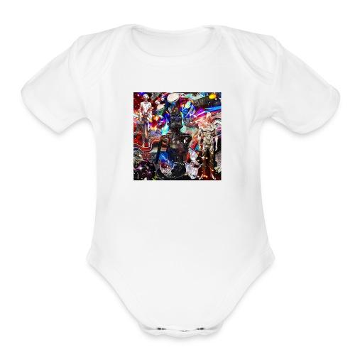 OKKIOVOO - Organic Short Sleeve Baby Bodysuit
