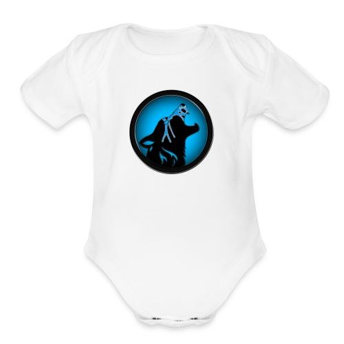 WolfGaming - Organic Short Sleeve Baby Bodysuit
