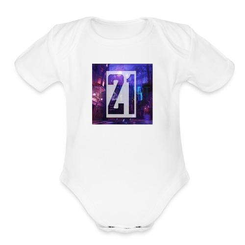 21 - Organic Short Sleeve Baby Bodysuit