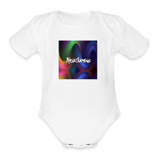 youtube profile picture - Organic Short Sleeve Baby Bodysuit