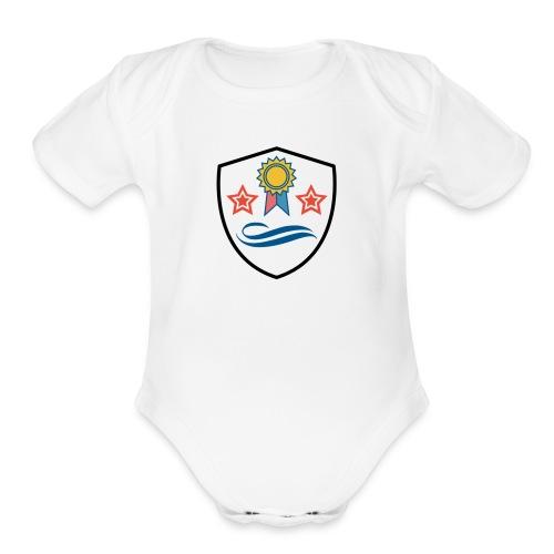 Shield - Organic Short Sleeve Baby Bodysuit
