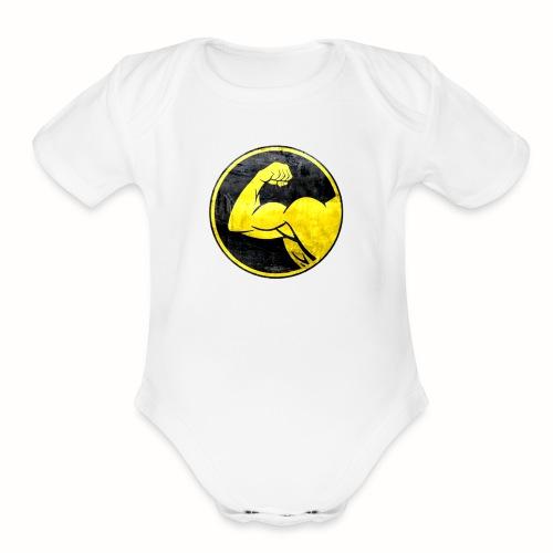 StrongHands - Organic Short Sleeve Baby Bodysuit