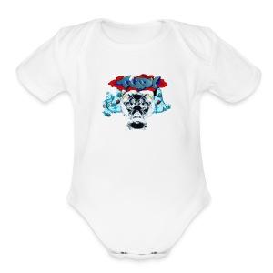 IMG 4122 - Short Sleeve Baby Bodysuit