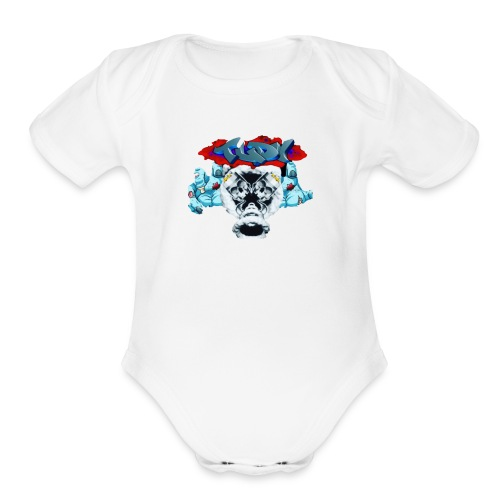 IMG 4122 - Organic Short Sleeve Baby Bodysuit