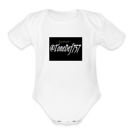 Tonedef757 - Organic Short Sleeve Baby Bodysuit