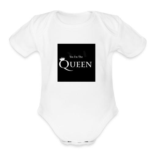 women shirt and girls - Organic Short Sleeve Baby Bodysuit