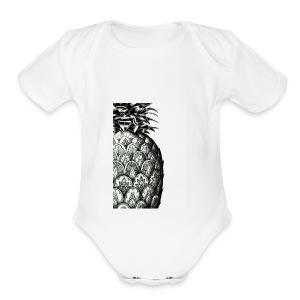 585544FB AB02 4E58 BF6F AACE863C18BD - Short Sleeve Baby Bodysuit