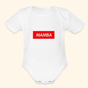 Supreme Mamba - Short Sleeve Baby Bodysuit