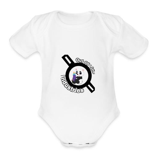O.U.I#1 - Organic Short Sleeve Baby Bodysuit