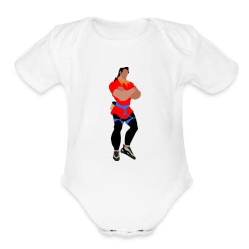 Gaston - Organic Short Sleeve Baby Bodysuit