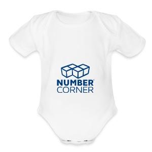 NC Logo R - Short Sleeve Baby Bodysuit