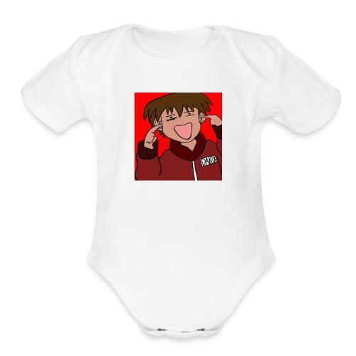 Teen Age Dande - Organic Short Sleeve Baby Bodysuit